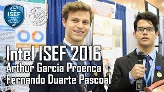 Arthur Garcia Proenca, a Senior, and Fernando Duarte Pascoal, a Junior, attended The International Science and Engineering Fair (ISEF) 2016 by winning the International Fair of South America – MOSTRATEC. They present their project, Educational Virtual Reality (ISEF ID BEHA001T) to...
