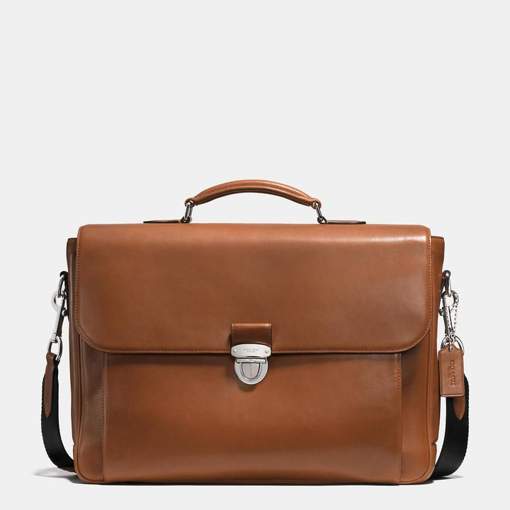 Coach Metropolitan Briefcase In Sport Calf Leather