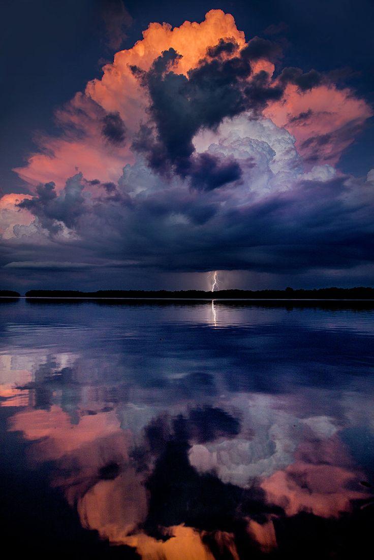 "opticcvlture: "" Elusive Electric Skies by Galen Burrow """