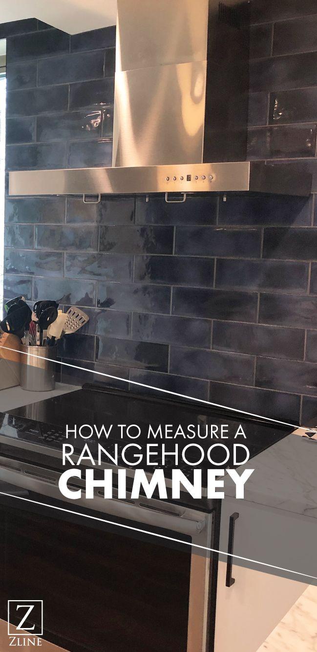 How To Measure A Range Hood Chimney Range Hood Diy Installation Remodel