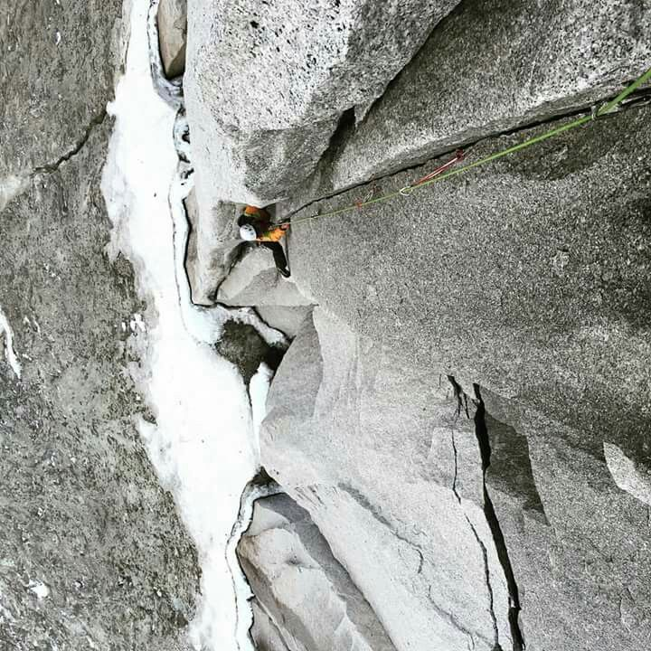 Tim McAllister and Patrick O'Sullivan at Bugaboos. Route makers....