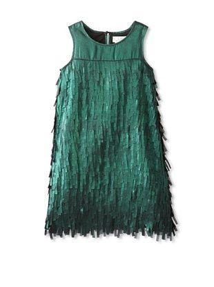65% OFF US Angels Girl's Fringe Sheath (Green)