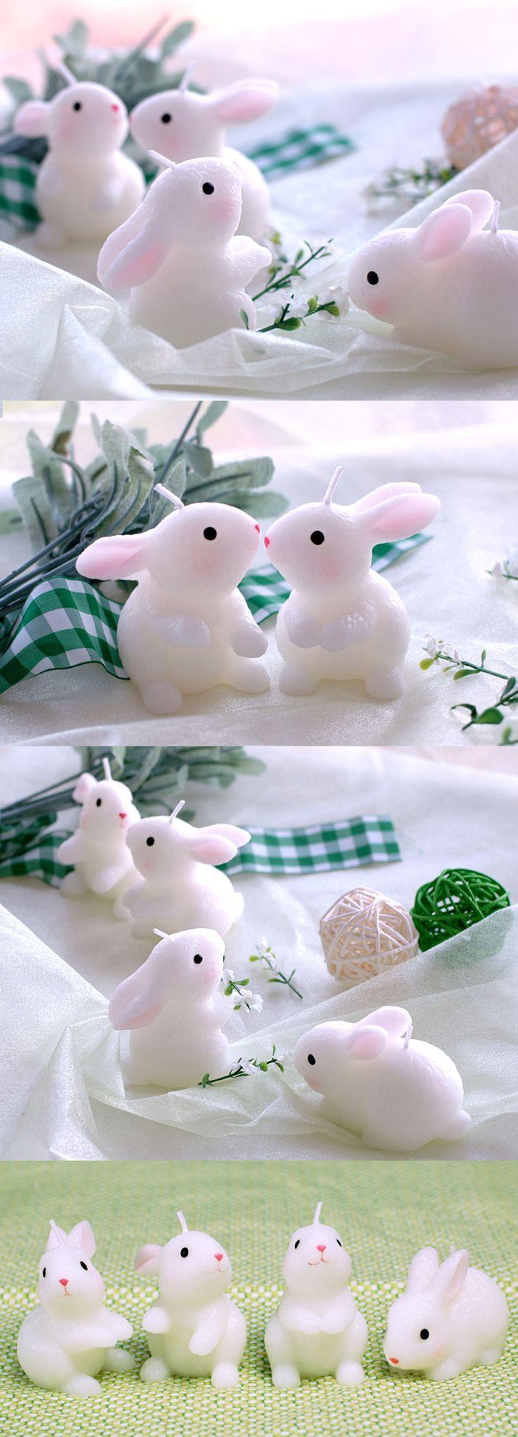 Детский праздник партия поставки день рождения свеча малый кролик Зодиака торт свечи свадебные украшения ароматические свечи, делая подарок купить на AliExpress