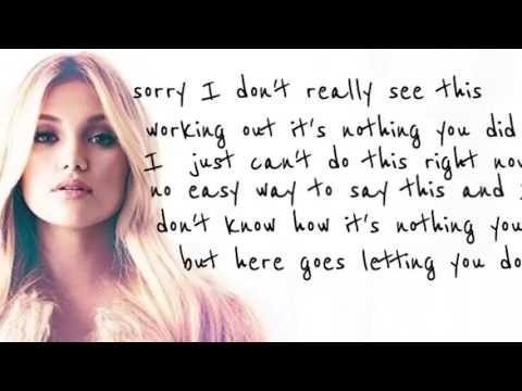 Olivia Holt - History (Lyrics) - YouTube