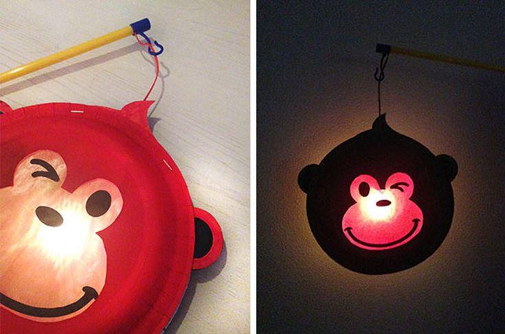 6x simpele Sint Maarten DIY lampions voor kleuters