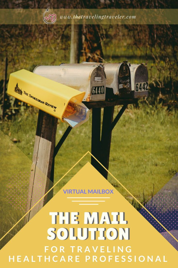 Virtual Mailbox The Mail Solution For Traveling Healthcare