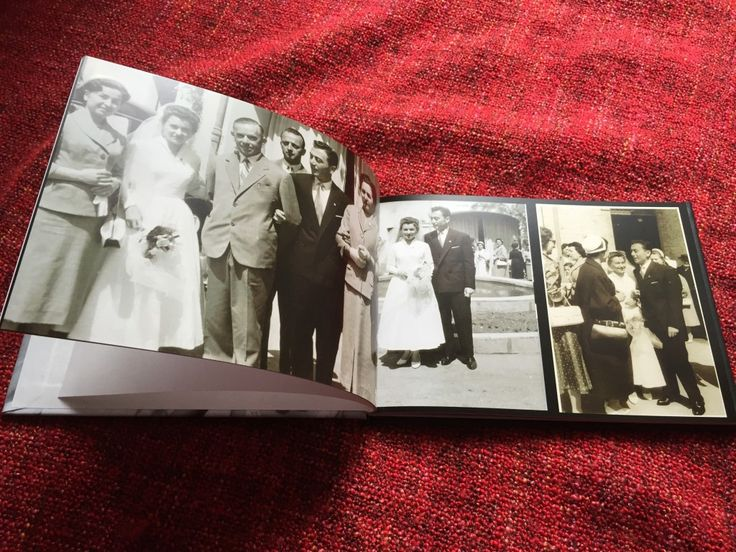 Sisters teamed up and collected all the family pictures in a photo book, to congratulate their 85-year-old mother on Mother's Day.   #MothersDay #gift #photobook #memories