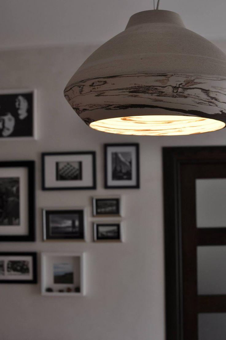 MATERA by ILIDE Suspension lamp Black&White