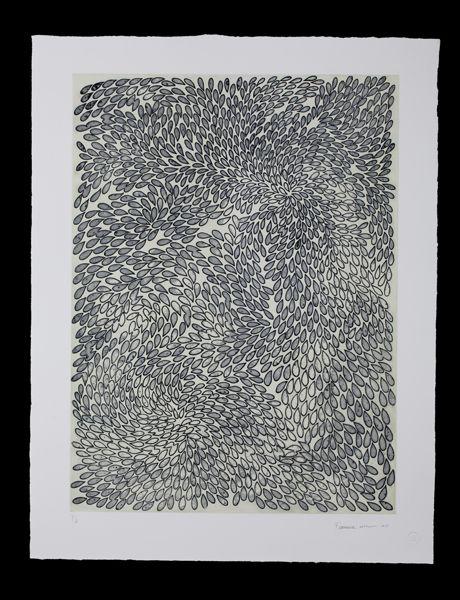 Mute 24, 2013 [etching on hahnemühle paper, sugar lift ground, 31 3/4 × 39 3/4 in  80.6 × 101 cm] https://artsy.net/artwork/francisca-sutil-mute-24