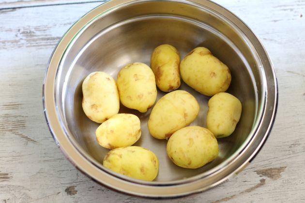 Jak obrać młode ziemniaki w #Thermomix. Film.