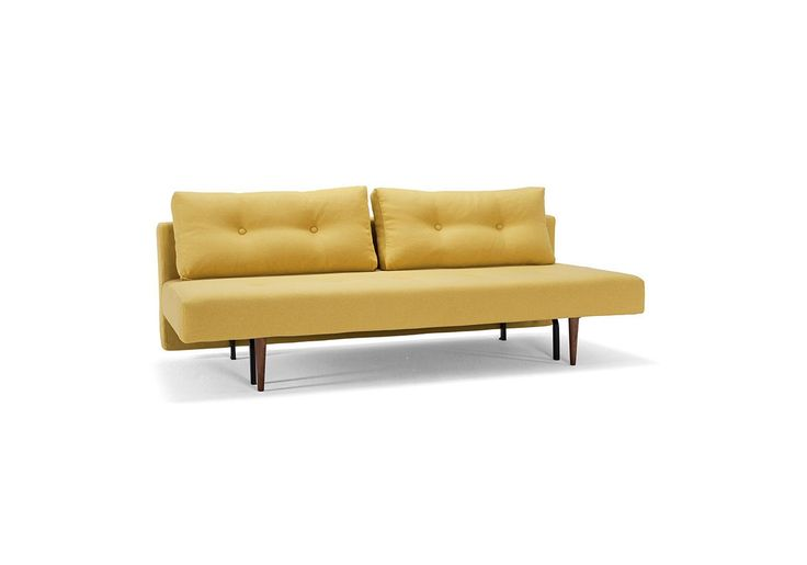 Cute colour - yellow will definetly make a dark room bright up - Recast Sofa Bed from Innovation Living