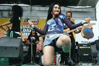 the variety genre of music Dangdut Indonesia.