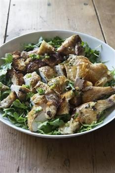 Another Ina recipe that I cannot wait to take for a taste drive.   Barefoot Contessa - Recipes - Roast Chicken with Bread & Arugula Salad