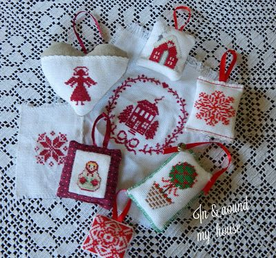 In & around my house : christmas ornaments