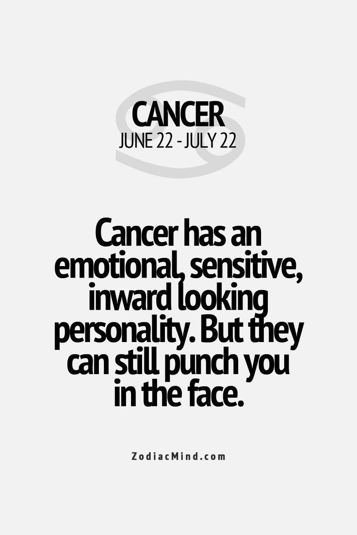 Cancer dating cancer sign