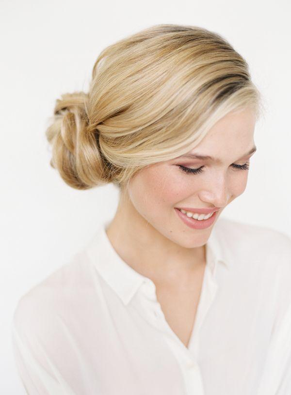 Lovely Low Side-bun #wedding #hairstyle   Wedding 5/27/14   Pinterest