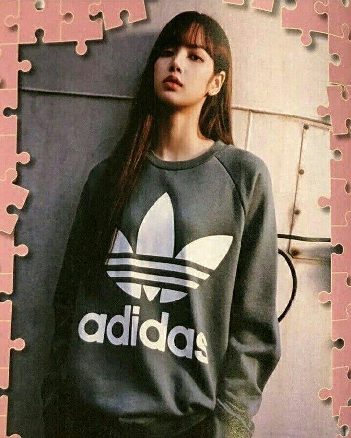 d6b785ef9e12f beauty  swag  Lisa  BLACKPINK For  adidas  photoshoot  IGupdate ...