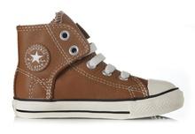 Converse Easy slip brown -kinderschoenen van Vans, Converse, Puma, Minnetonka in maat 16 t/m maat 35