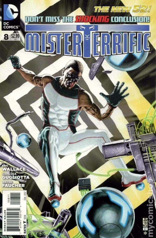 Mister Terrific (2011) 8