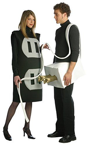 UHC Plug and Socket Set Funny Theme Party Adult Halloween Couple Costume Plus *** You can find more details by visiting the image link.