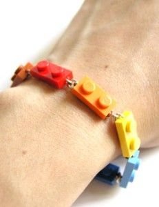 Lego bracelet. This would be good for party bags or something.