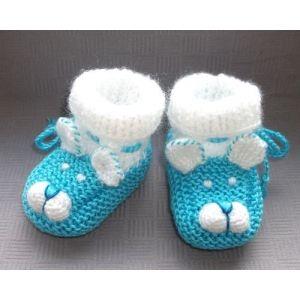 Новорожденных пинетки