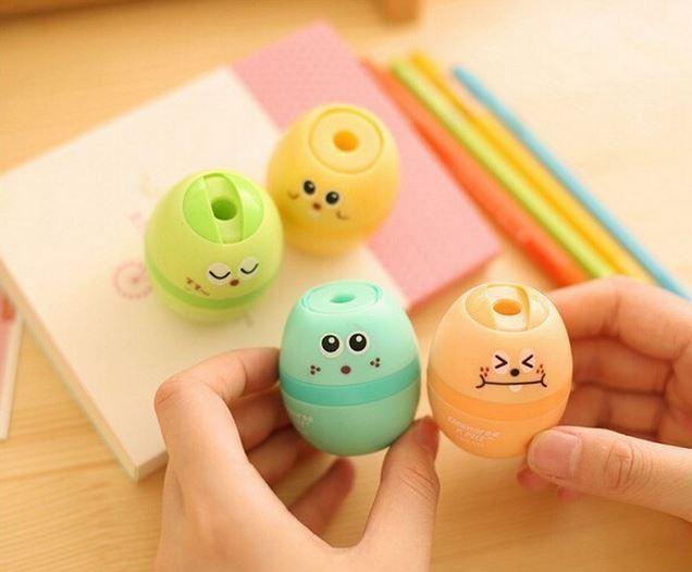 Egg Pencil Sharpener | MIMO Pencil Case Shop
