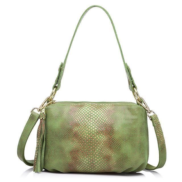 Python Pattern Crossbody Bag