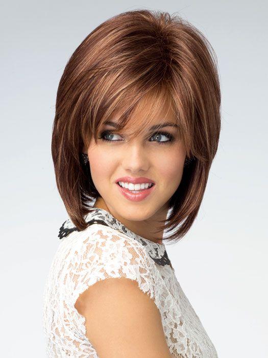 Cameron Synthetic Wig Basic Cap Auburn Hair Style