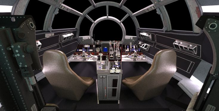 Inside the Millennium Falcon | cool details like the maintenance pits in the floor but lacking enough ...