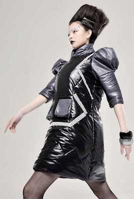 Elena Fashion Design Workshops : Armor and Robot inspired collections