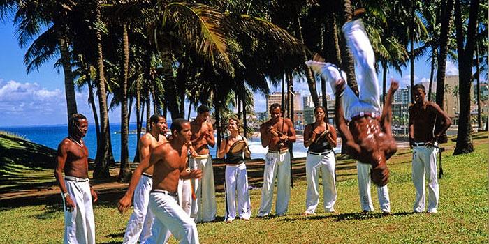Playing Capoeira - Salvador/Bahia