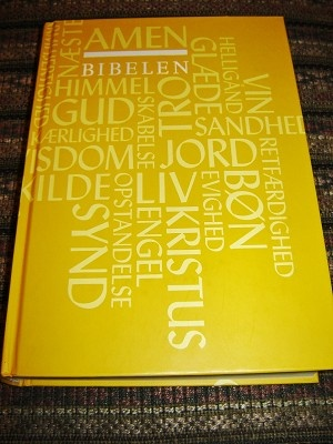 Danish Bible / BIBELEN / Den Hellige Skrifts Kanoniske Boger / 2010 Print / Ordforklaringer, Forkortelser, Appendiks, Maps
