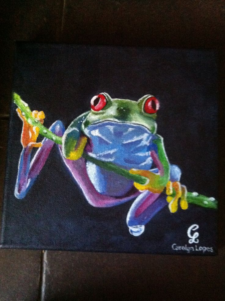 Frog #1 by Carolyn Lopes