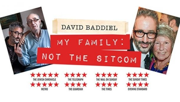 David Baddiel at Bristol Hippodrome on Monday 2nd July 2018