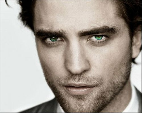 Robert Pattinson - Don't judge me. I don't want to see him act, but I like to look at him!