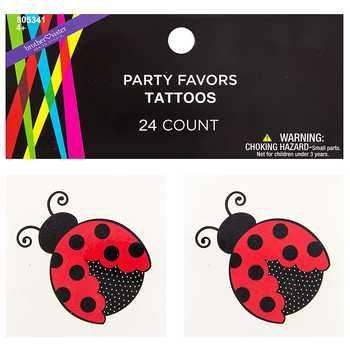 Ladybug Tattoos