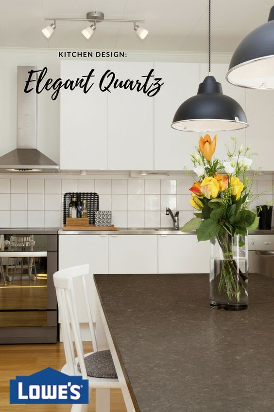 Quartz kitchen countertops are easier to maintain than granite and very easy to clean. Check our guide to choose the best countertop and complete the look of your kitchen.