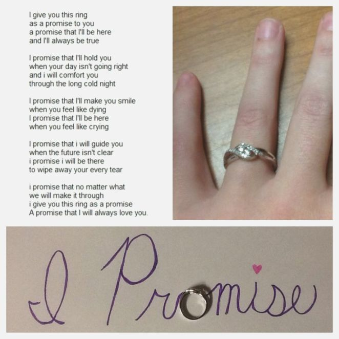 50 Unique Best Promise Ring Proposals The Proposal Promise Ring Quotes Genie Promise Ring Quotes In 2020 Promise Ring Quotes Cute Promise Rings Promise Rings
