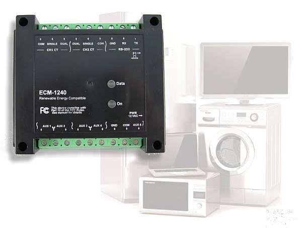 ECM-1240 | Power/Energy Monitors | Brultech Research Inc.