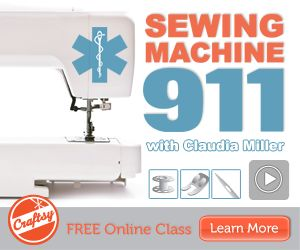 Yes - I can accomplish my goal! Free online sewing machine tutorial.