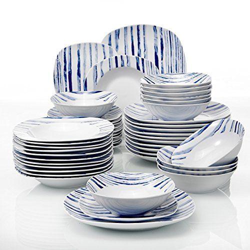 SALE PRICE VEWEET Porcelain Dinnerware Set White