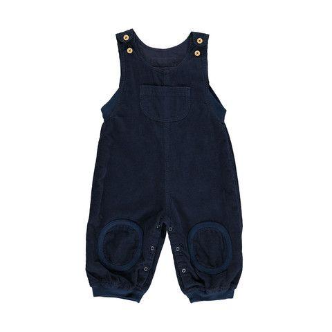 Okker Gokker organic corduroy blue overalls http://www.danskkids.com/collections/overalls/products/okker-gokker-organic-navy-overalls