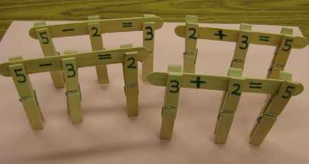 A great math quiet time activity for big kids.