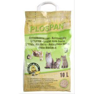 Plospan Houtkorrel Kattenbakvulling 10 LTR  Description: Plospan milieuvriendelijke kattenbakvulling Uitgezeefd houtzaagsel wordt geperst tot een milieuvriendelijke korrel voor de kattenbak. Dit maakt het tot een eerlijk en milieuvriendelijk product. De Plospan kattenbakkorrel neemt minimaal tweeenhalf keer zijn eigen gewicht op aan vocht. Zo gaat Plospan kattengrit minstens 2 keer langer mee dan traditionele kattenbakvulling. De kattenbakkorrel kan na gebruik in de kattenbak op een…