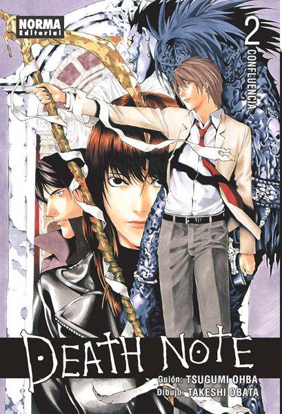 DEATH NOTE 02 Novedad Abril. Cómic manga  - Reedición