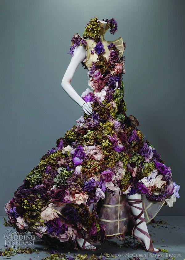Alexander Mcqueen | cynthia reccord #dresses #vestidos #fabulous #flowers