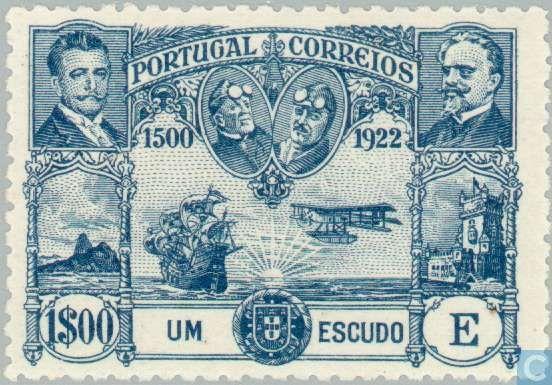 Portugal [PRT] - First flight Lisbon Brazil 1923
