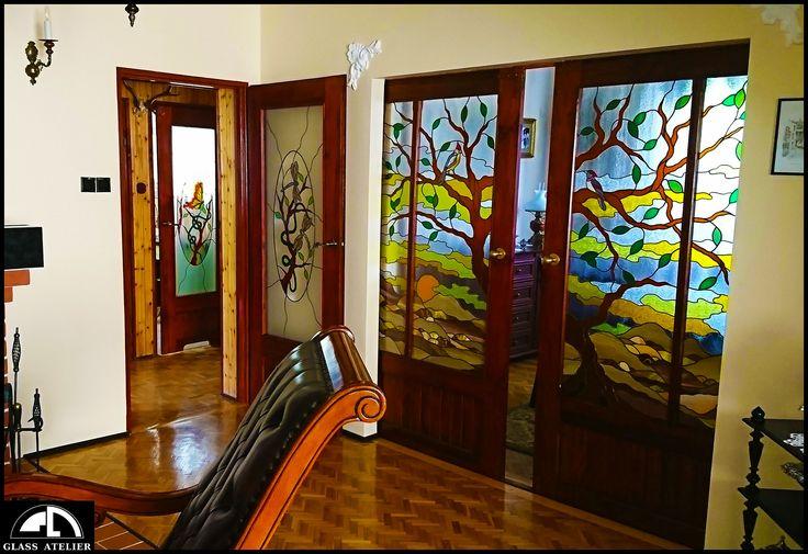 WITRAŻOWO #glassatelier , #witraże , #stainedglass , #overlay , #vitrail , #vitraj , #glass , #szkło , #handmade , #glassart