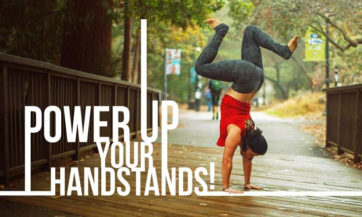 Getting into a yoga handstand can be scary for a lot of people, so here are 5 techniques to prepare you mentally & physically for Adho Mukha Vrksasana.